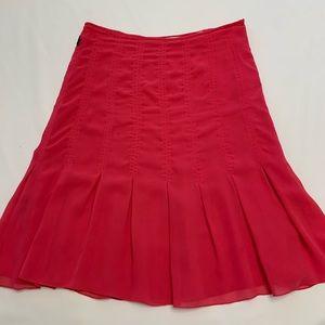 Moschino Jeans Cerise Silky Skirt  6